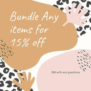 15% OFF ANY BUNDLE - SAVE NOW